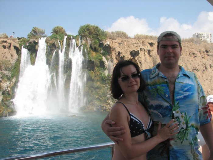 Водопад в Анталии